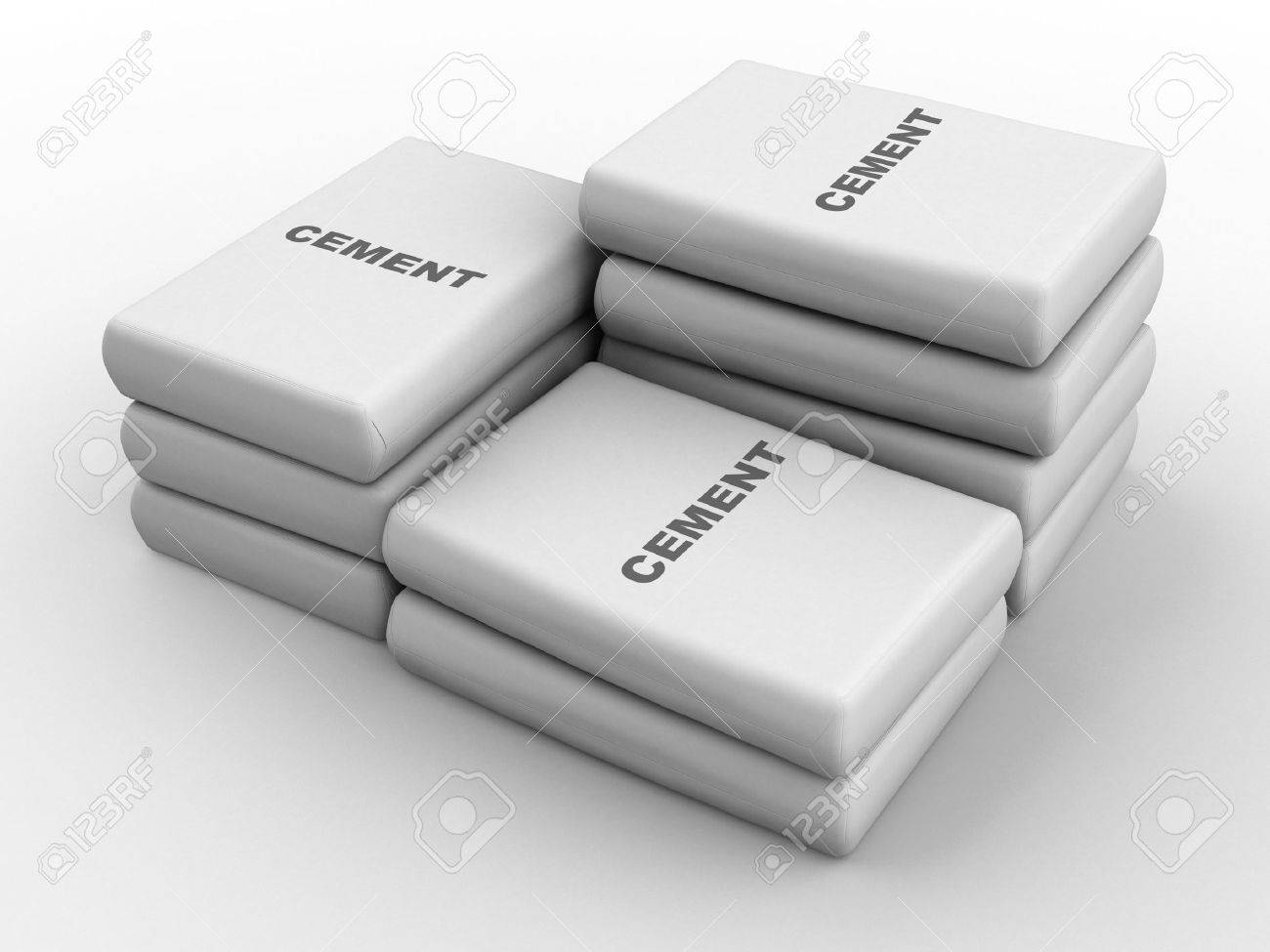 Cement bags Stock Photo - 8885909