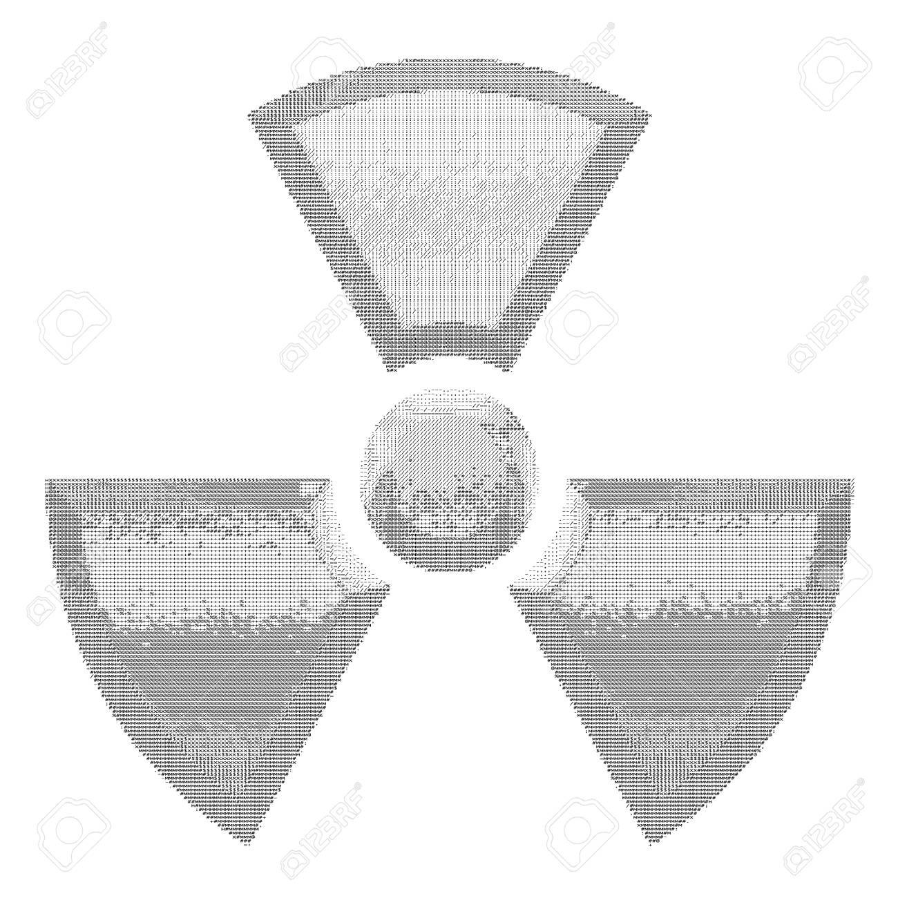 type art radioactive Stock Vector - 30169264