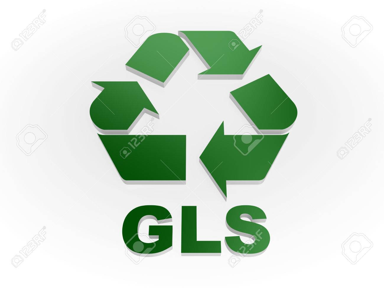 Recycle Gls Sign Recycling Codes Glass Stock Photo Picture And