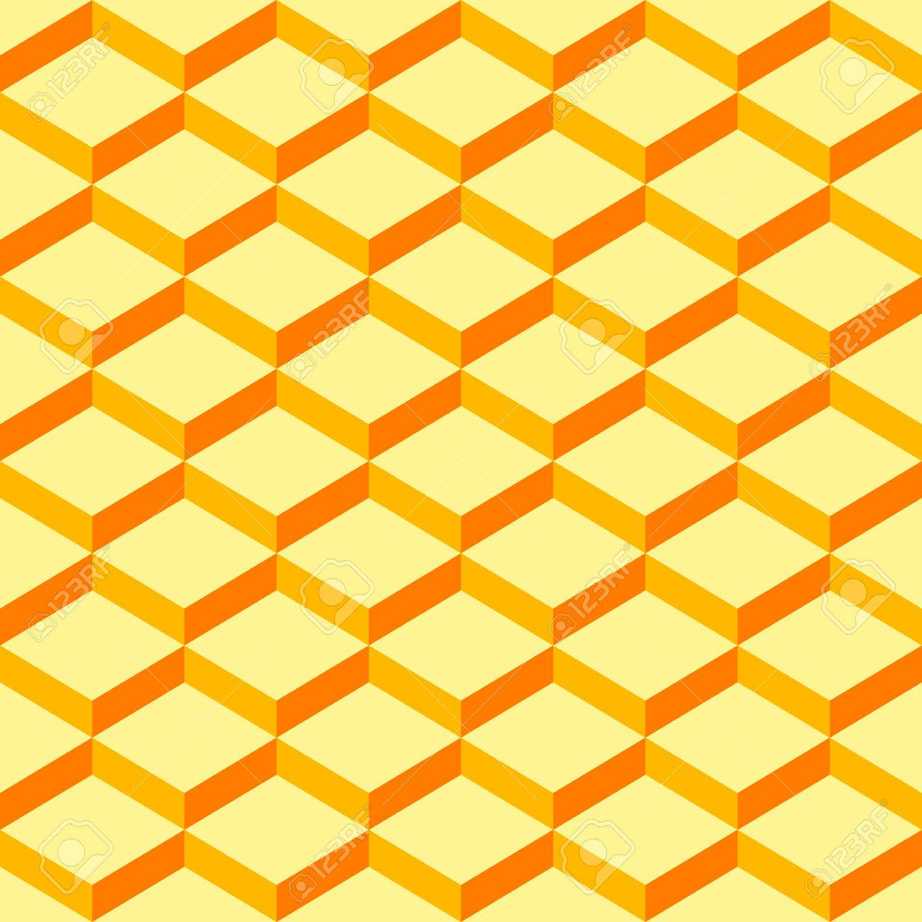 36125905 abstract orange geometric patterns background seamless designs can be used for wallpaper pattern fil