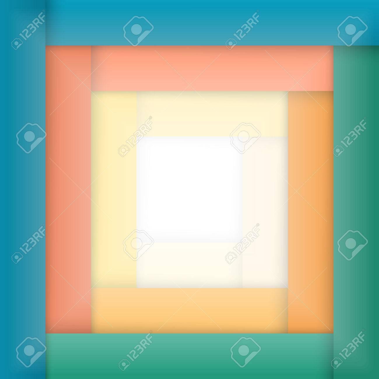Fondo Geométrico Marco Abstracto Raya. Los Elementos De Diseño Para ...