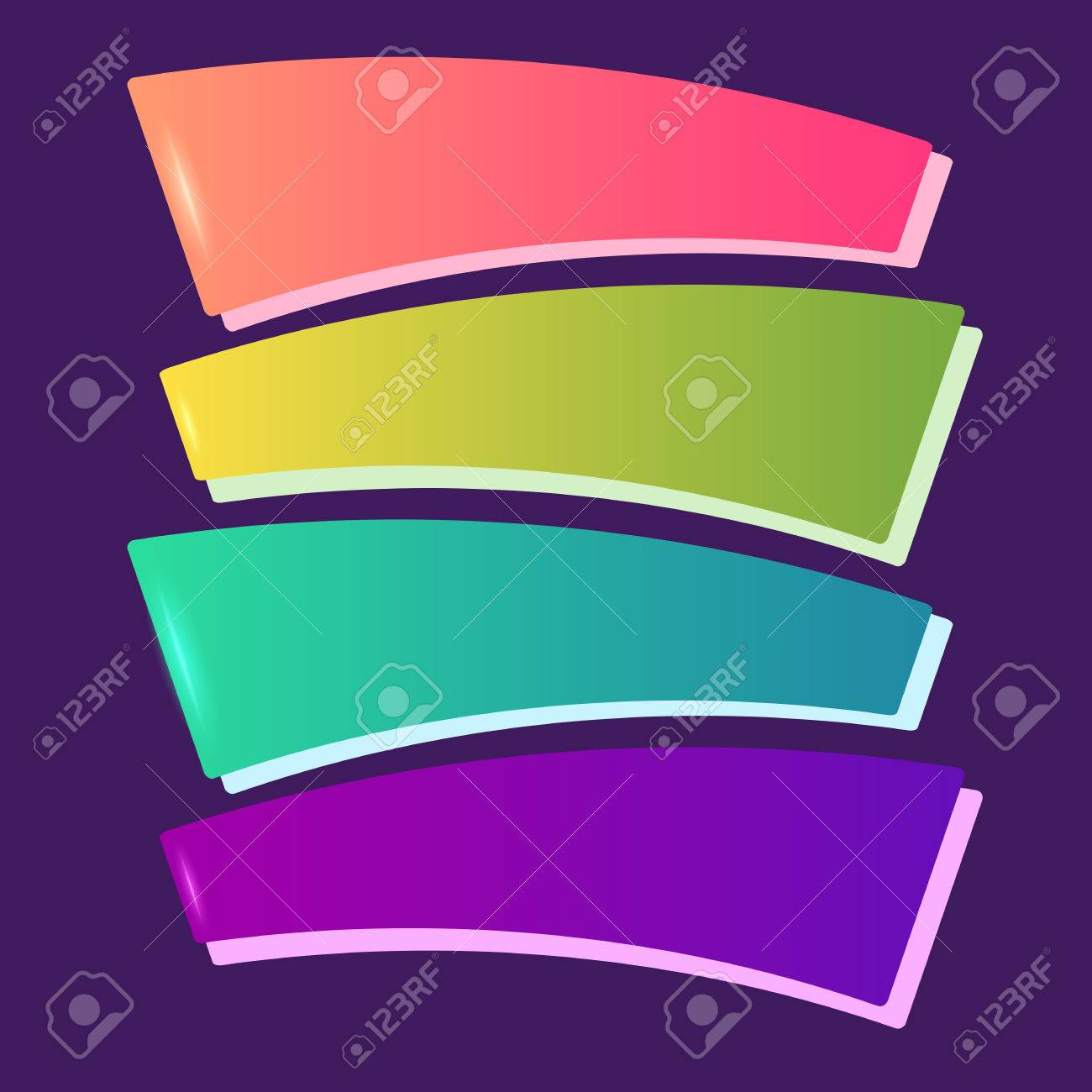 advertisement design elements template on purple background advertisement design elements template on purple background vector can use for info graphic