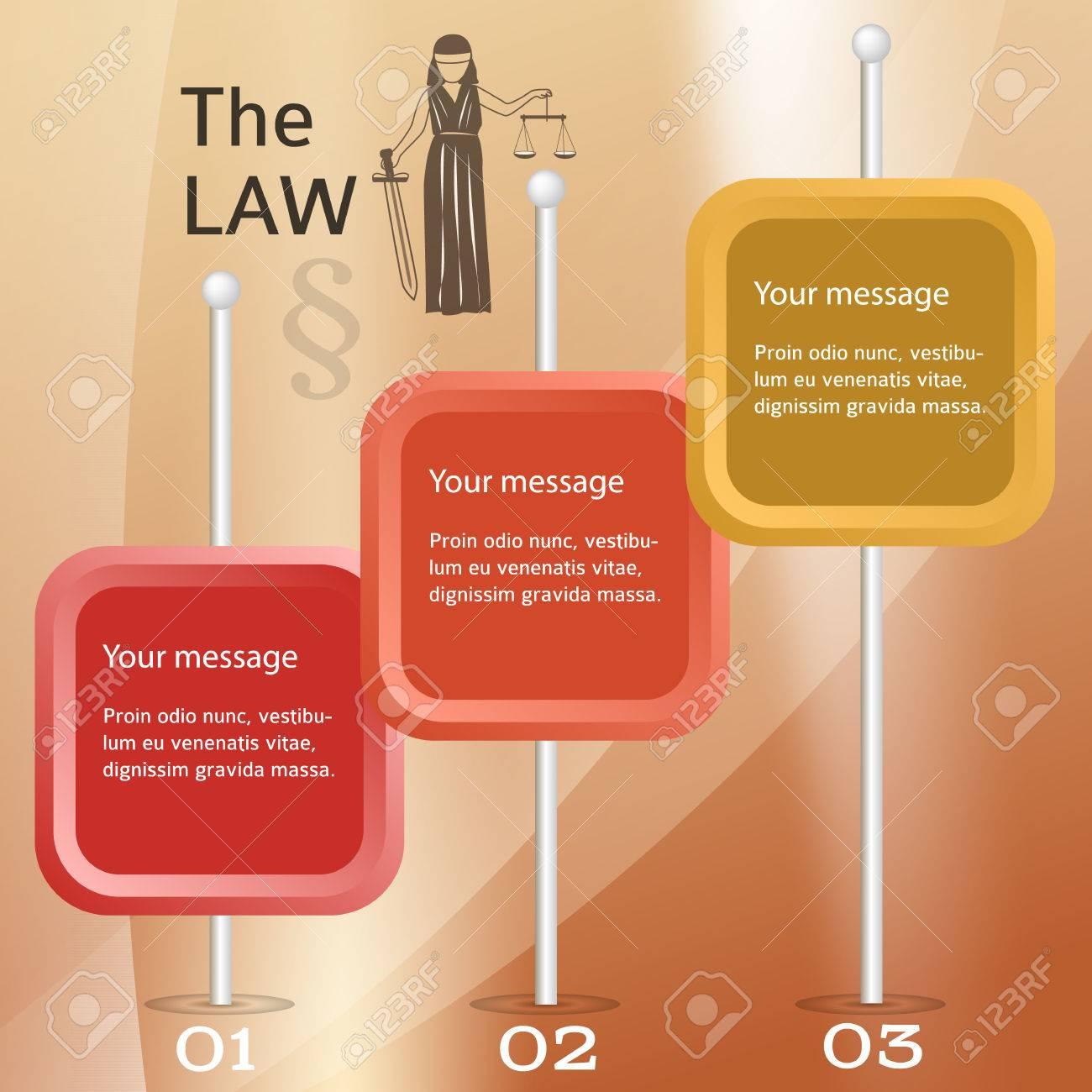 Modernen Design Stil Infografik Für Legal Kanzlei Vektor Illustration Eps 10 Kann Für Business Präsentation Oder Broschüre Vorlage Das Justizamt
