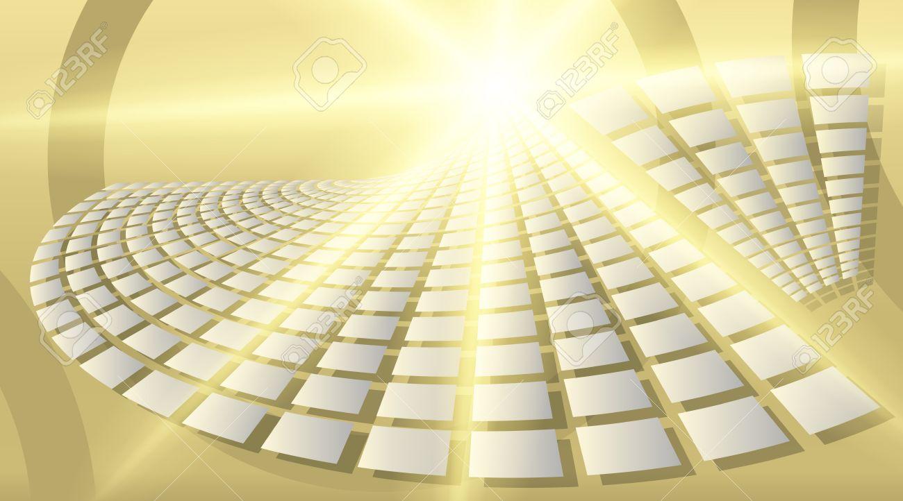 Carte De Visite Modle Vierge Fond Beige Avec Un Lgant Rectangles Inversion Du Ventilateur En Vrac Graphiques Des Rayons Lumire Lumineux