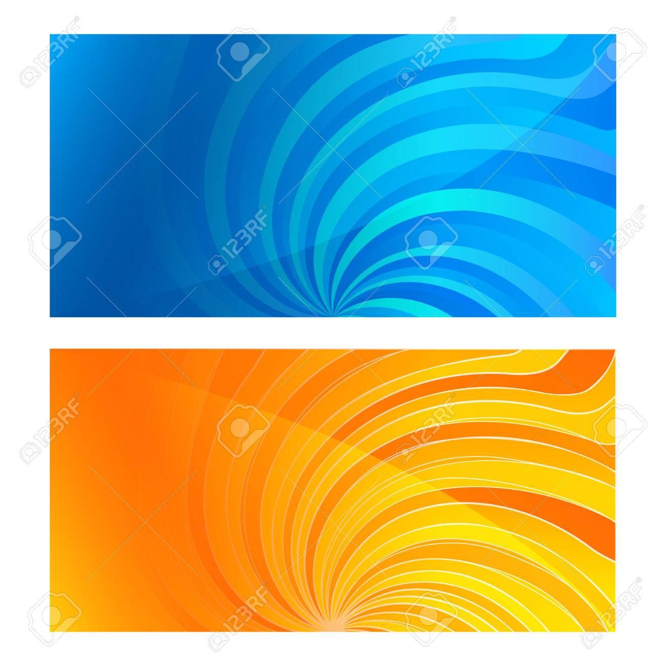 Rglez Carte De Visite Modle Vierge Swirl Fond Avec Dlgants Graphiques Inversion Torsade Lumineux Rayons Ltoile Vector Illustration