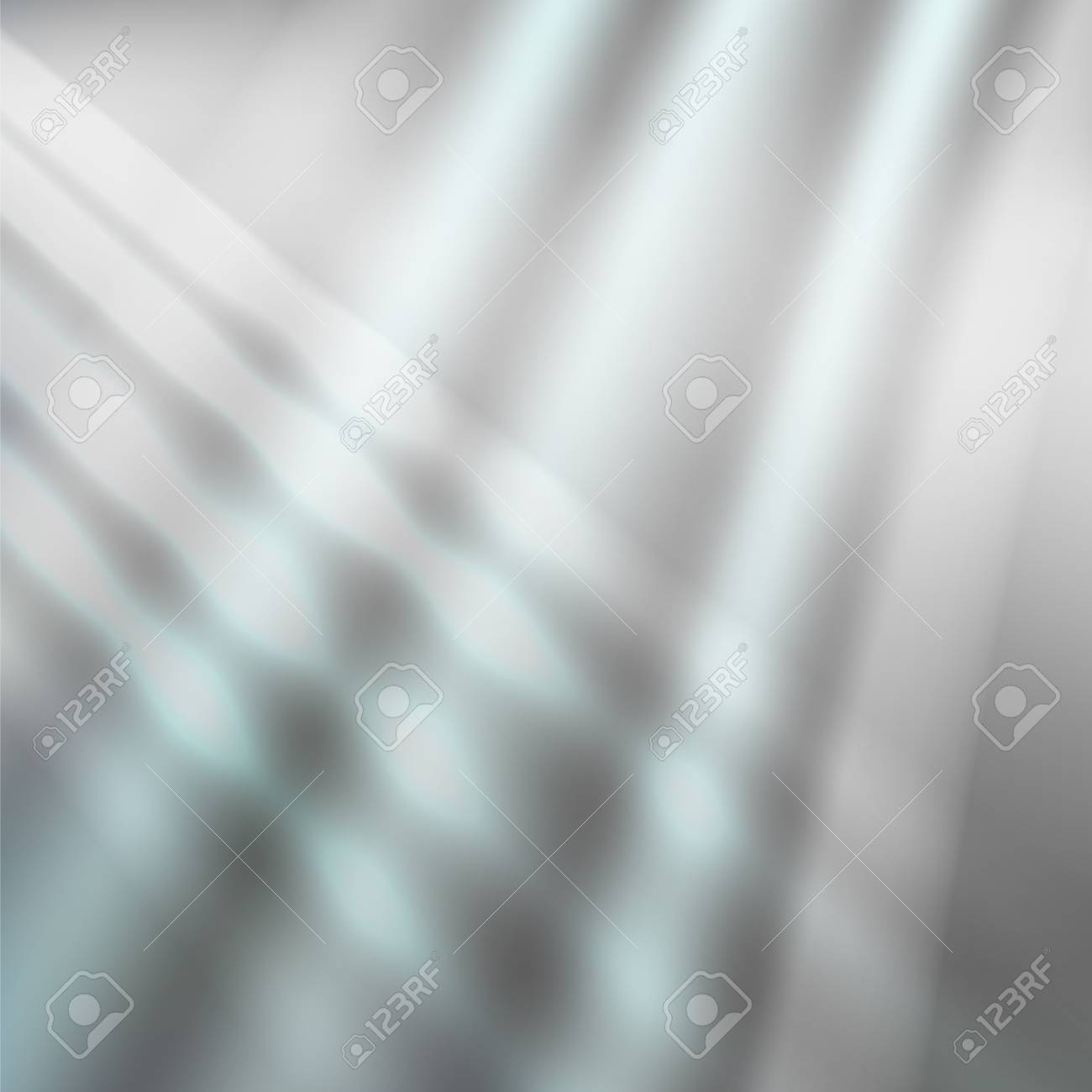 Modern metalic grey background of bright glowing perspective. Gorgeous graphic image template. Abstract vector Illustration for your business brochure colors silver, steel - 89829777