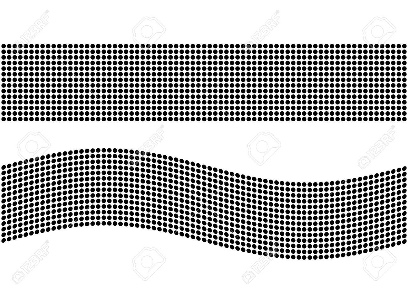 Modern Geometric Background With Black Ellipse Element Circle ...