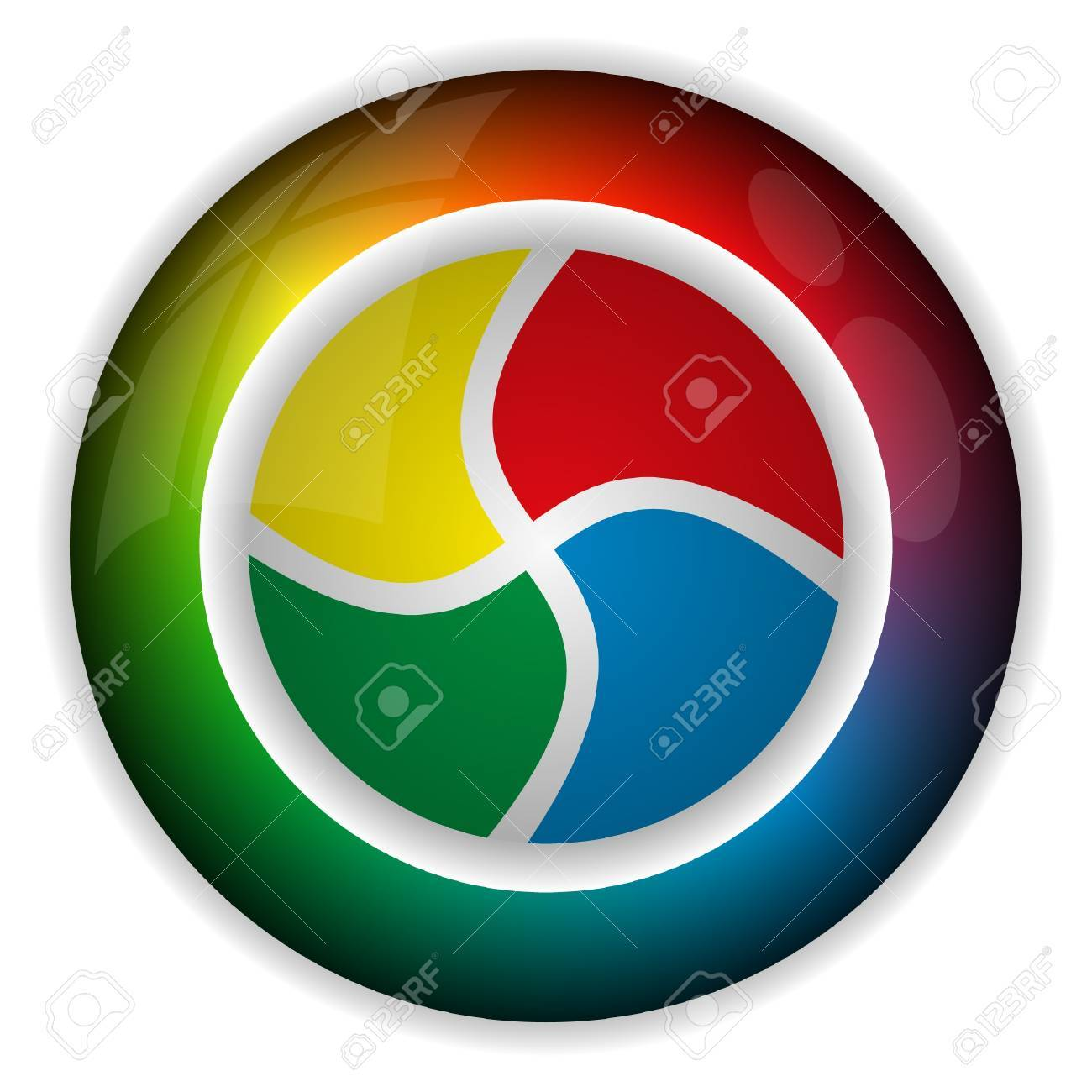 color wheel Stock Photo - 8893385