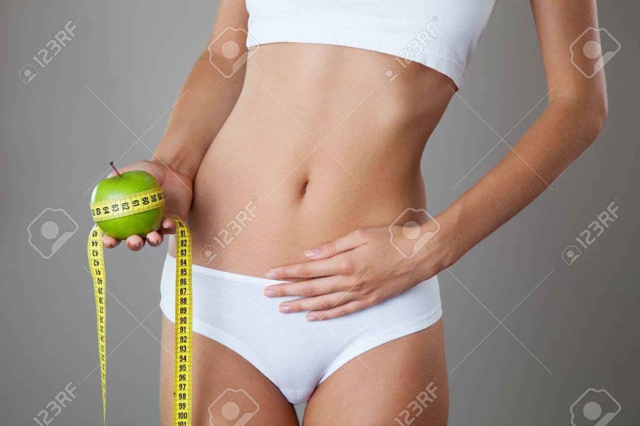 Perfect Slim Body. Diet Stock Photo - 18711349