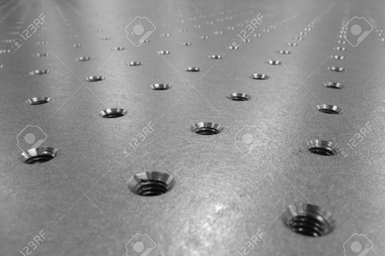steel optical table background Stock Photo - 876032