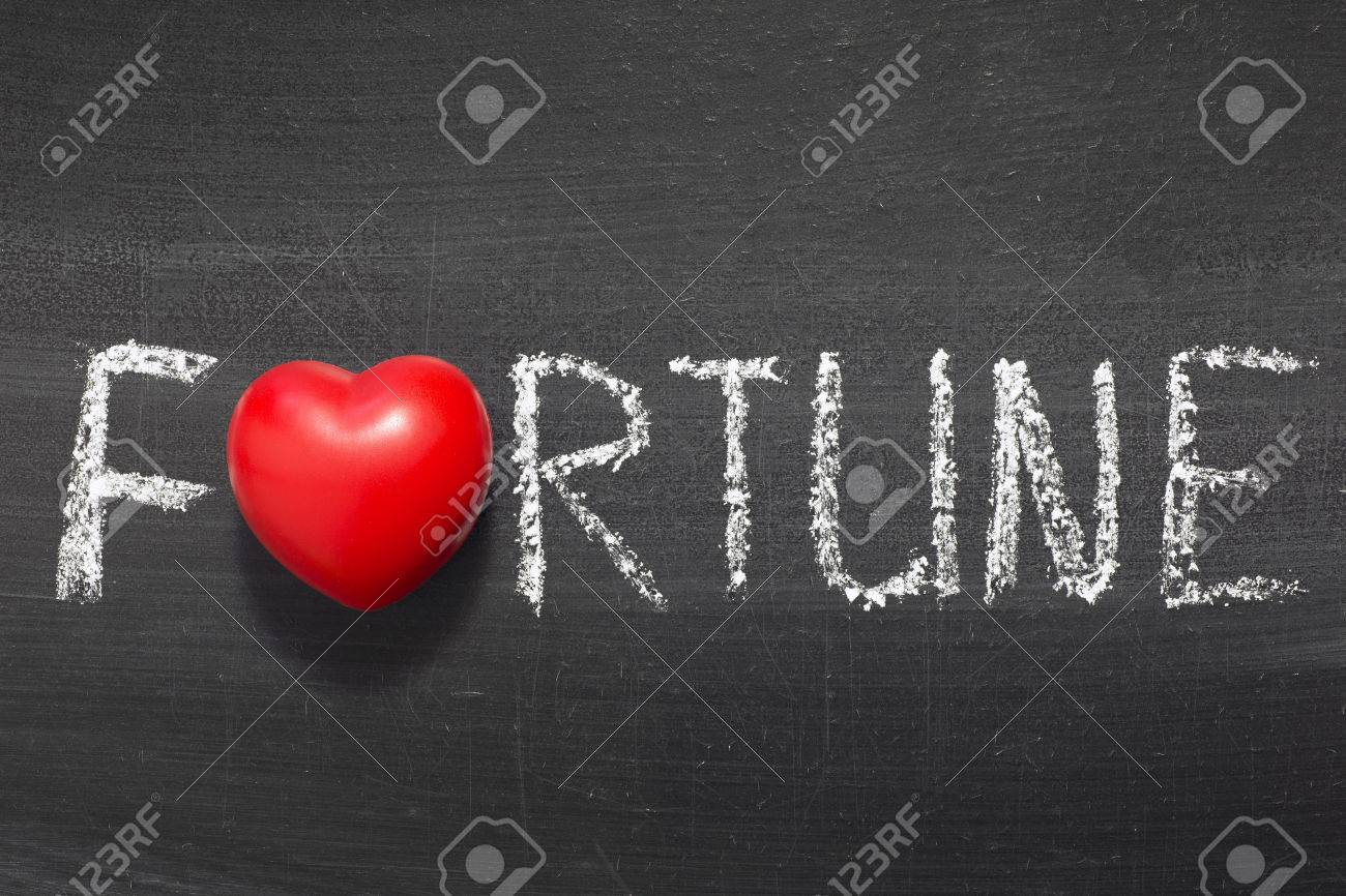 Fortune word handwritten on chalkboard with heart symbol instead fortune word handwritten on chalkboard with heart symbol instead of o stock photo 26632841 biocorpaavc