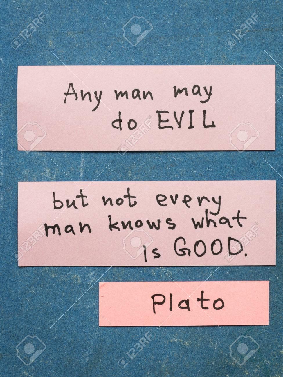 Berühmten Antiken Griechischen Philosophen Plato Zitat
