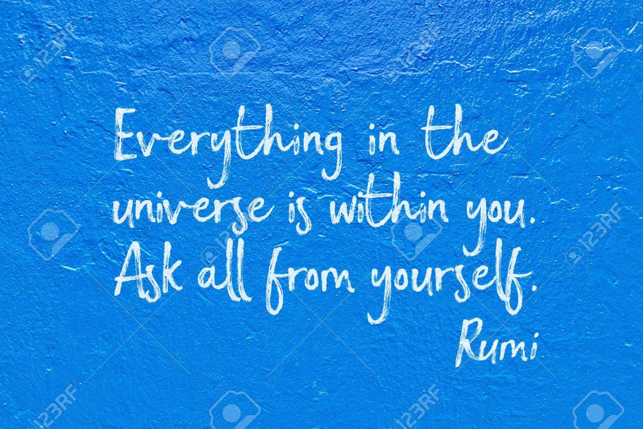 宇宙のすべてはあなたの古代ペル...
