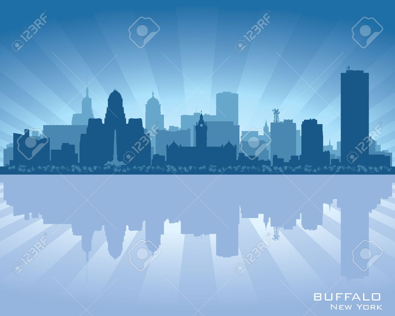 Buffalo ny skyline images
