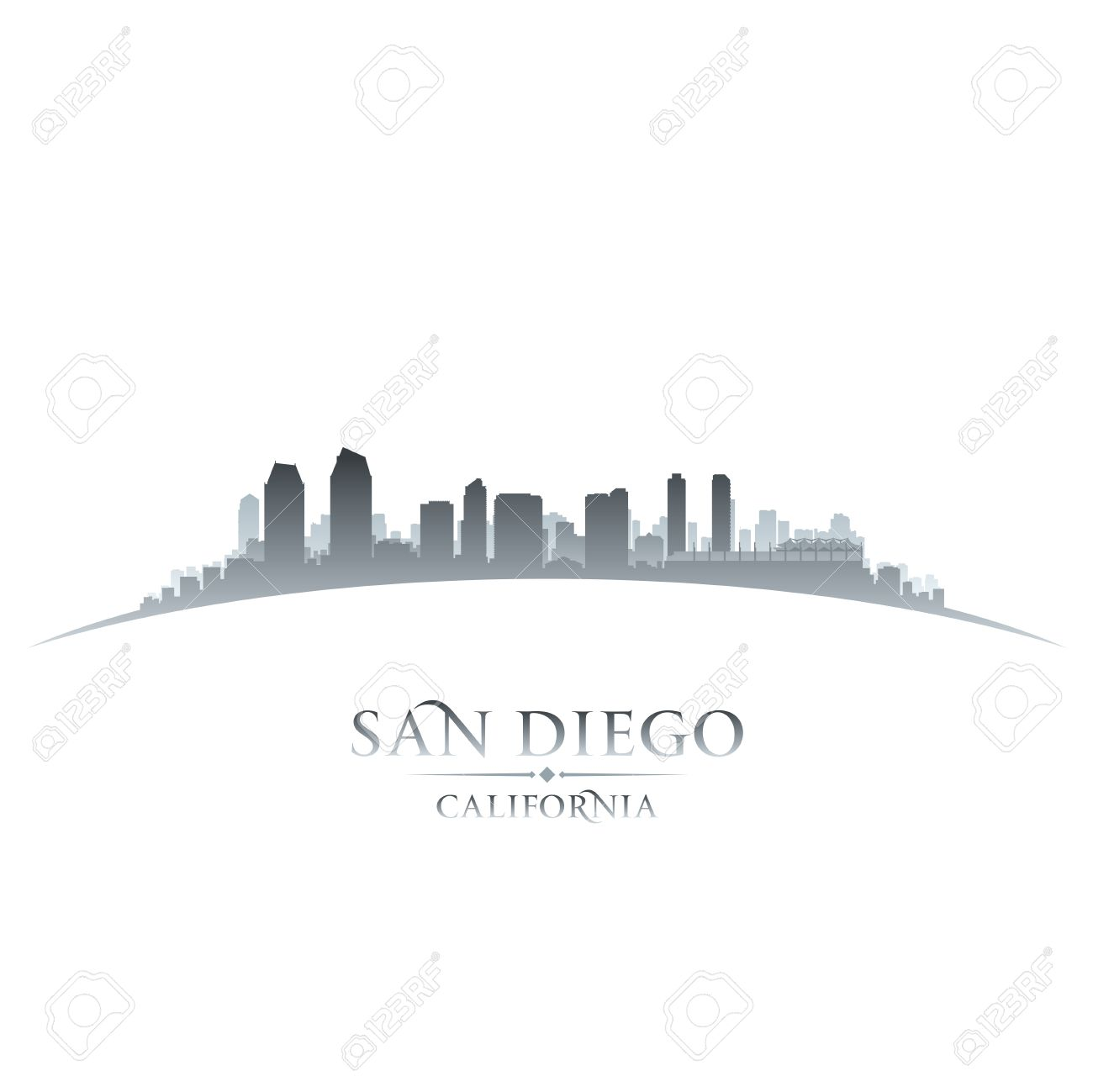 54 Downtown San Diego Cliparts, Stock Vector And Royalty Free ...