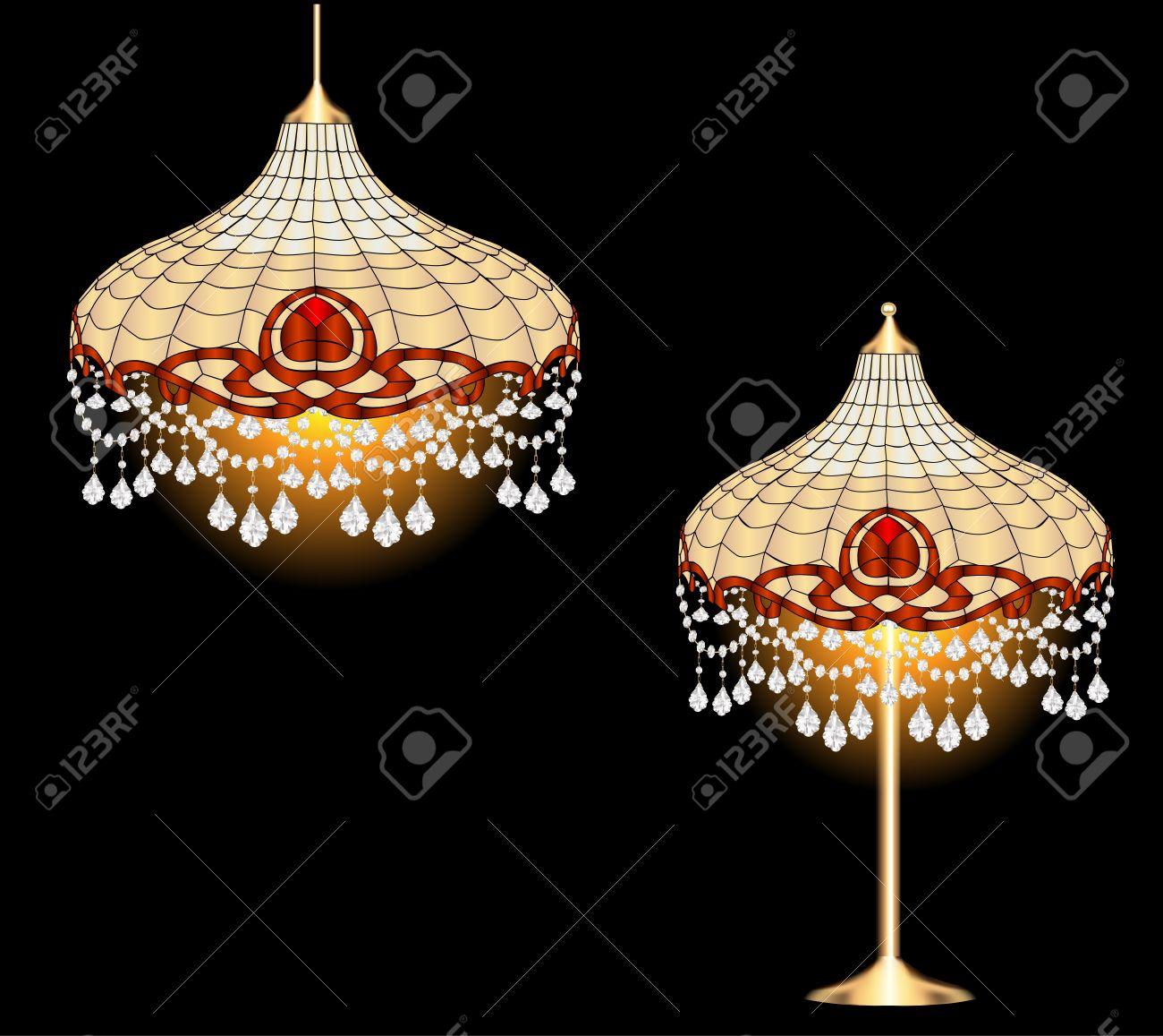 Lampadario con lampade pendenti: illuminazione cantori iago ...