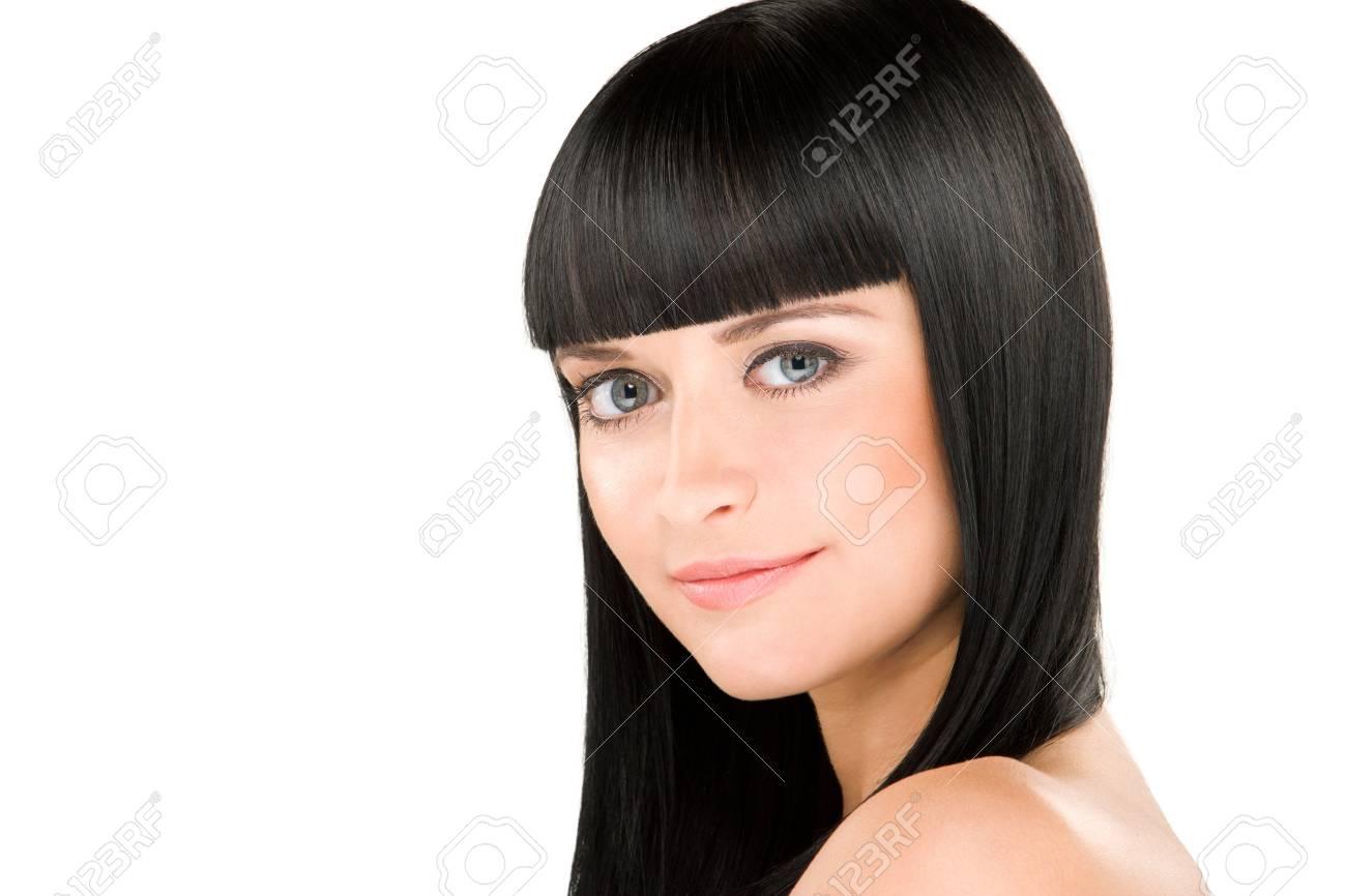 perfect brunette Stock Photo - 12328155