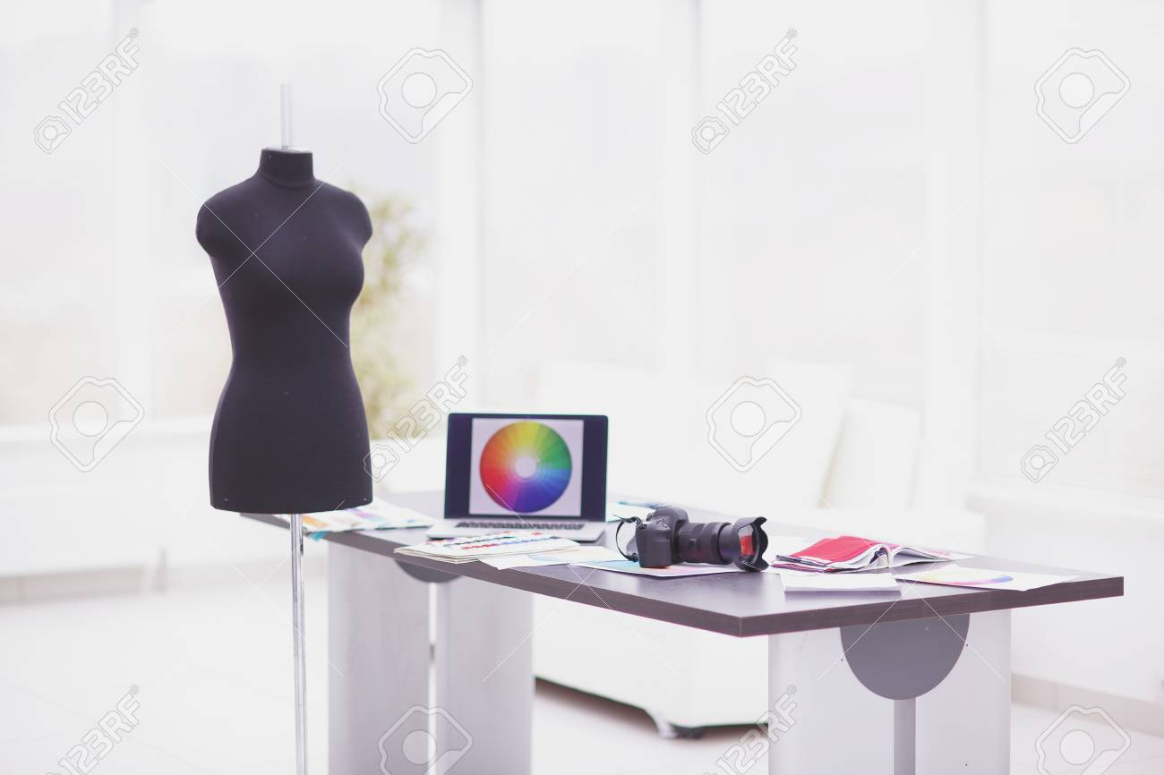 Creative Studio Designer Photo With Copy Space Fashion And Technology Stock Photo Picture And Royalty Free Image Image 107917589