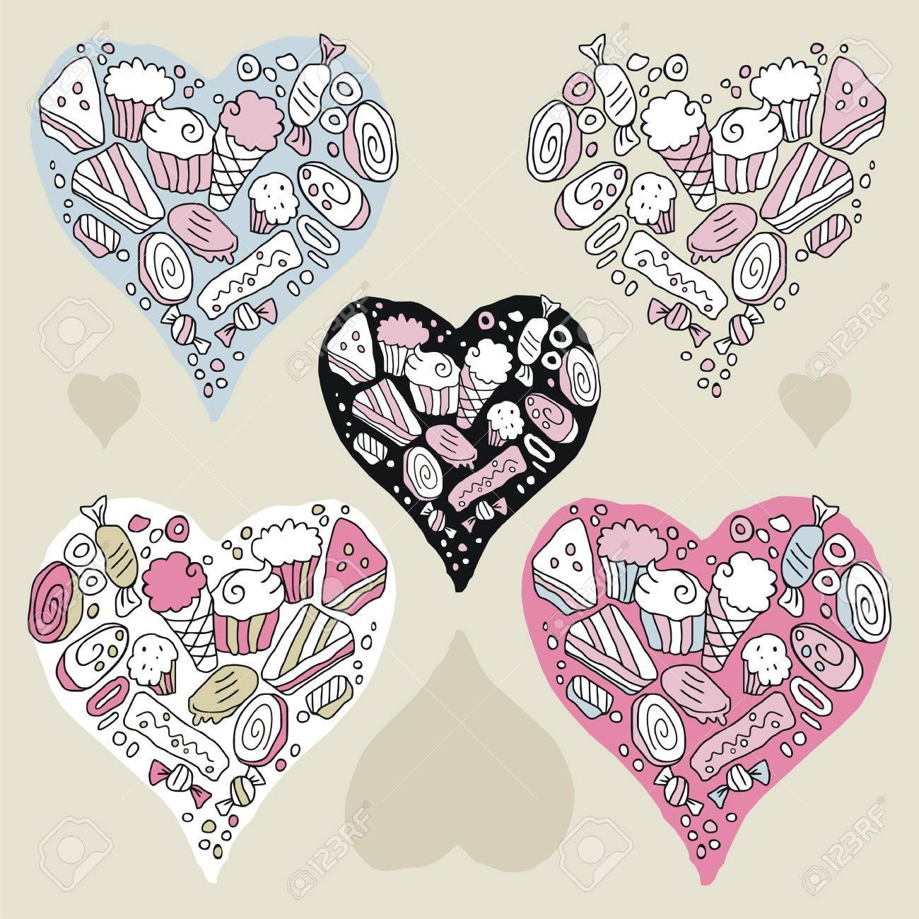 Erfreut Süßigkeiten Herz Vorlage Fotos - Beispiel Wiederaufnahme ...