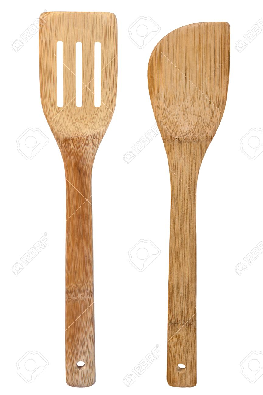 Isolated Wood Oar Objects Activity White Kitchenware Utensil.. Stock ...