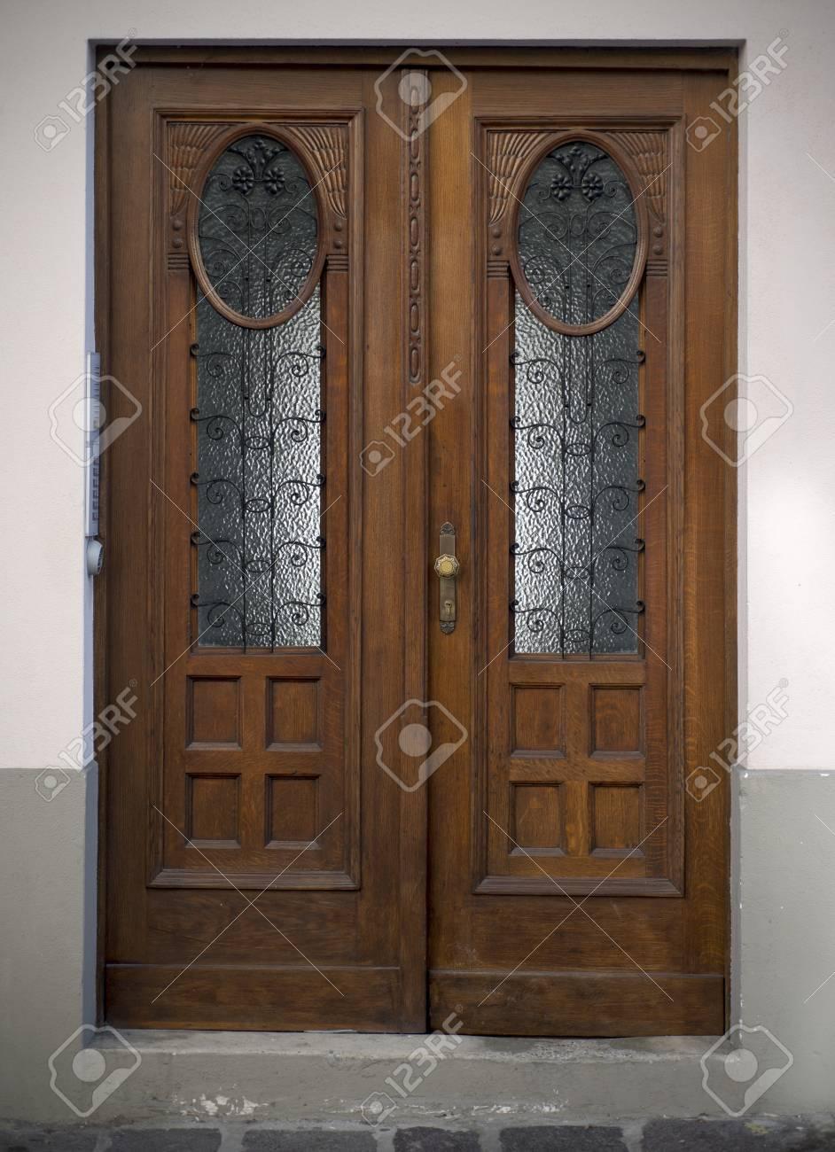 Old doors, handles, locks, lattices and windows  Ljubljana