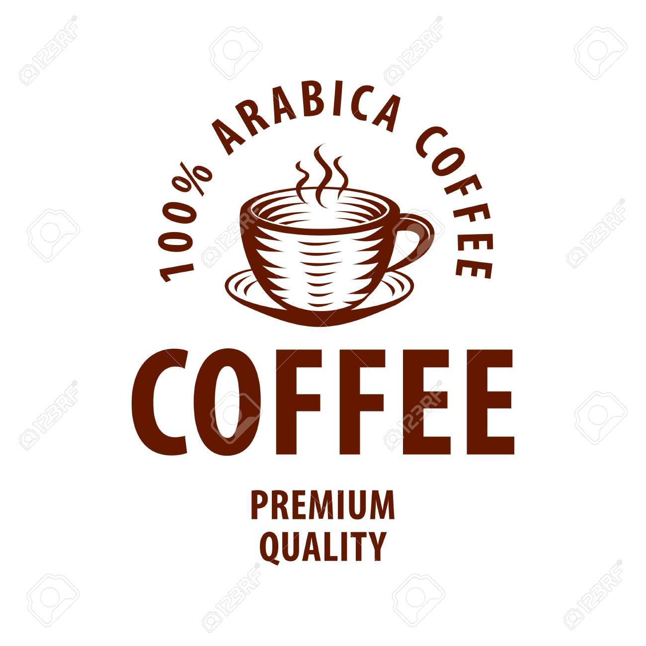 Coffee Shop Logo Design Template Retro Coffee Emblem Vector Art Ilustraciones Vectoriales Clip Art Vectorizado Libre De Derechos Image 148549141