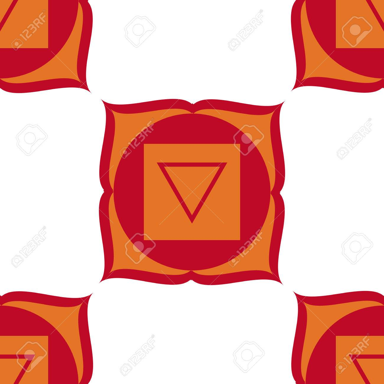 Muladhara Root Chakra The Symbol Of The First Chakra White