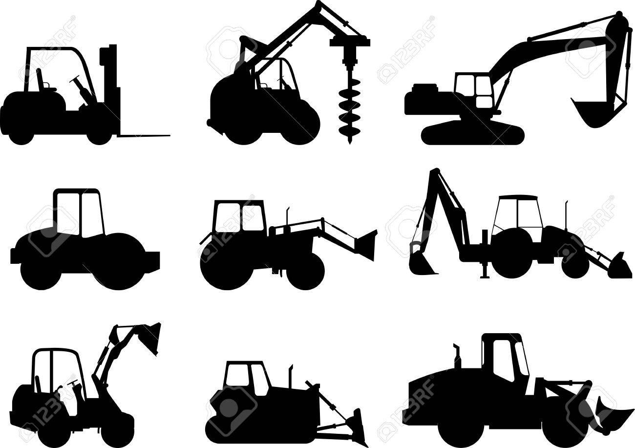 Construction Machinery - Construction Equipment Icon Free Clipart in 2020   Free  clip art, Clip art, Construction equipment