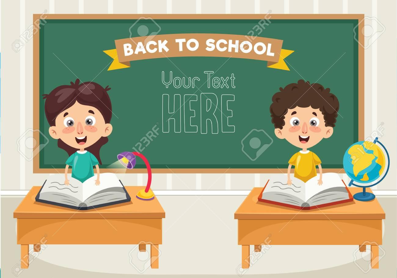 Illustration Of Students - 109482074