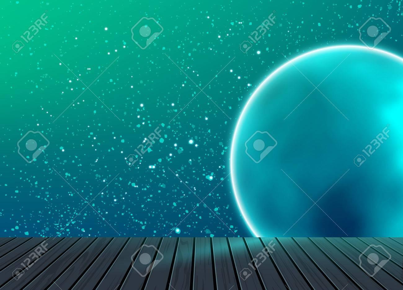 galaxy raum muster hintergrund textur mit holzboden im studio um ideen fr wissenschaft und technik - Galaxy Muster