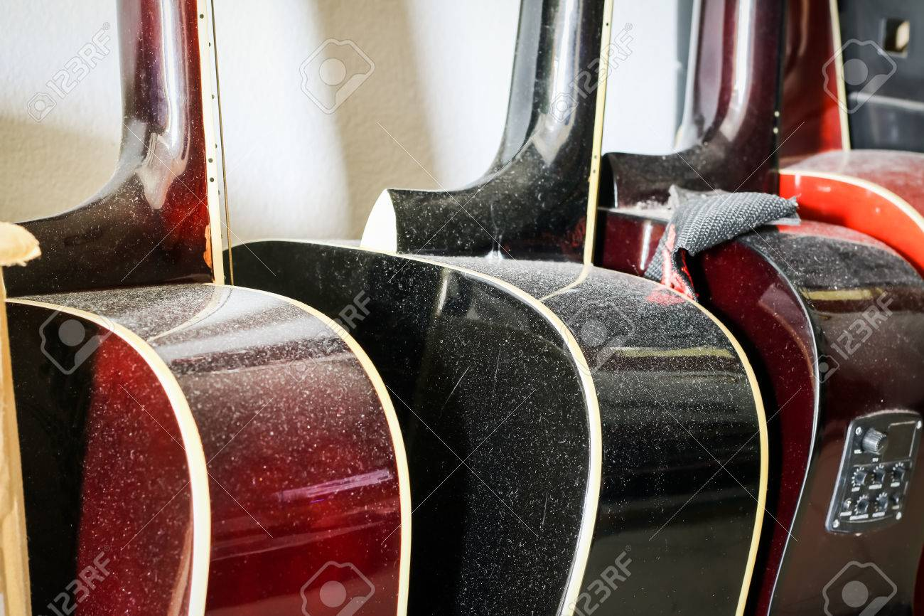 old Guitars in store