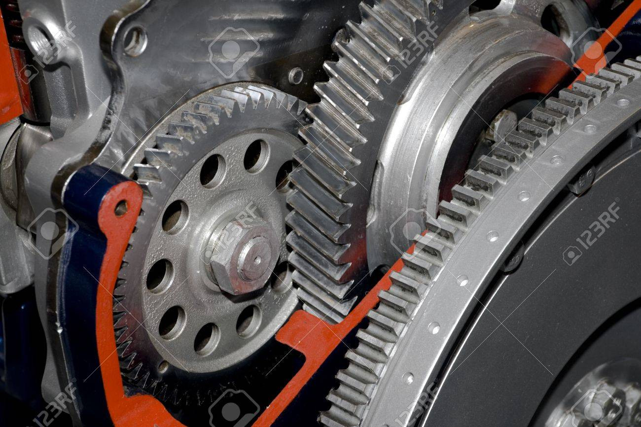 Gearbox cut-through view Stock Photo - 3791525