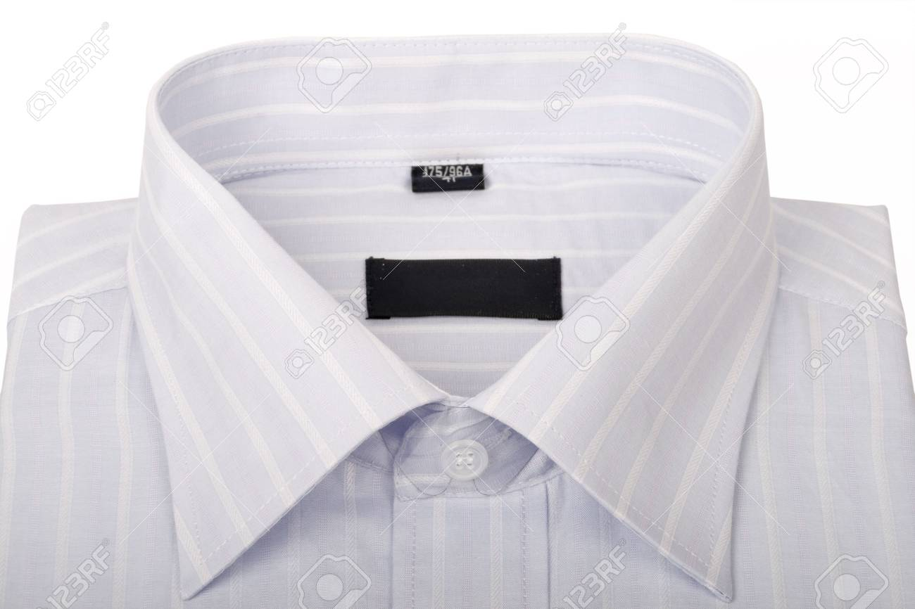 Striped shirts isolated on the white background Stock Photo - 5074079