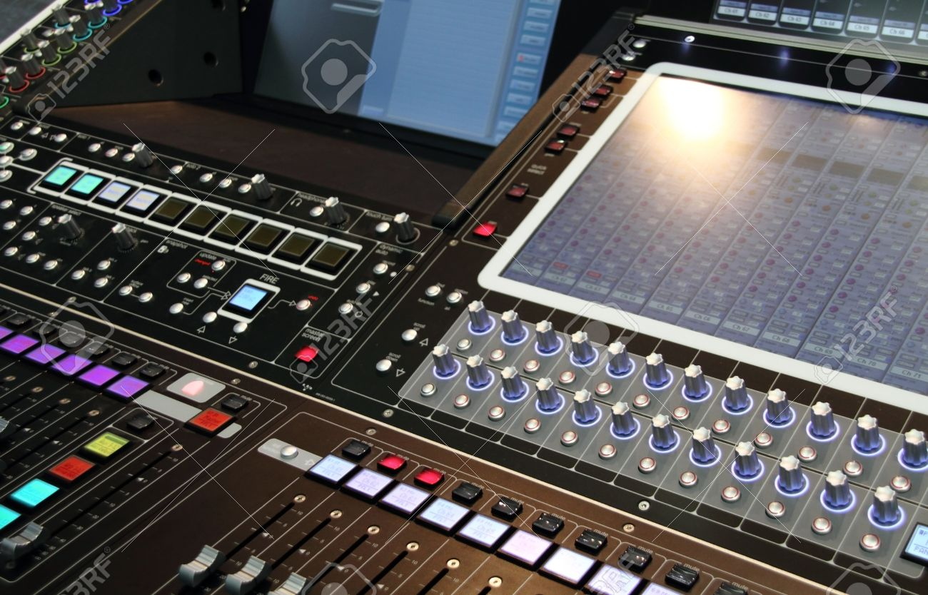 Table De Mixage Studio Professionnel