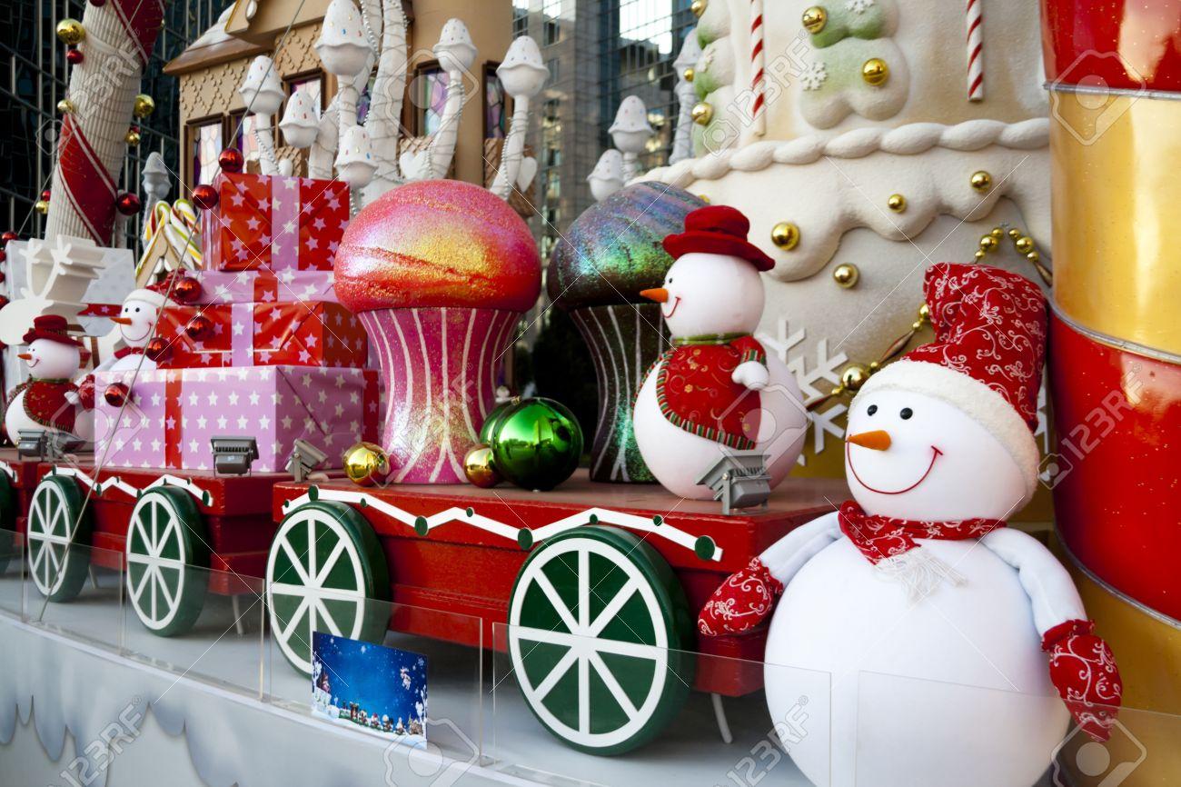 Decoracion De Navidad De Lujo Grande En El Exterior Fotos Retratos - Decoracion-navidea-para-exterior