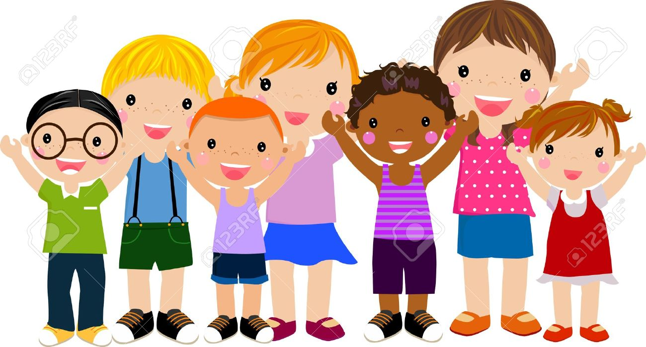 Group Of Children Having Fun Royalty Free Cliparts Vectors And Stock Illustration Image 14905534