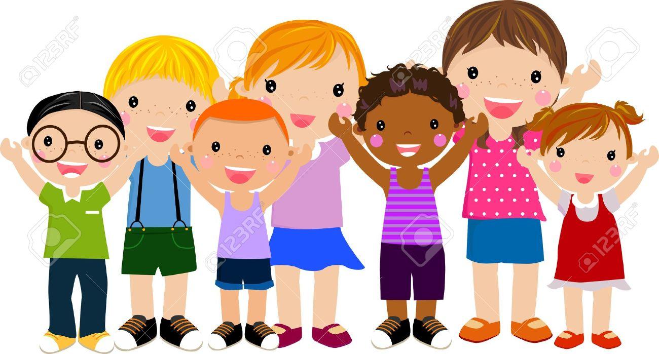 group of children having fun - 14905534