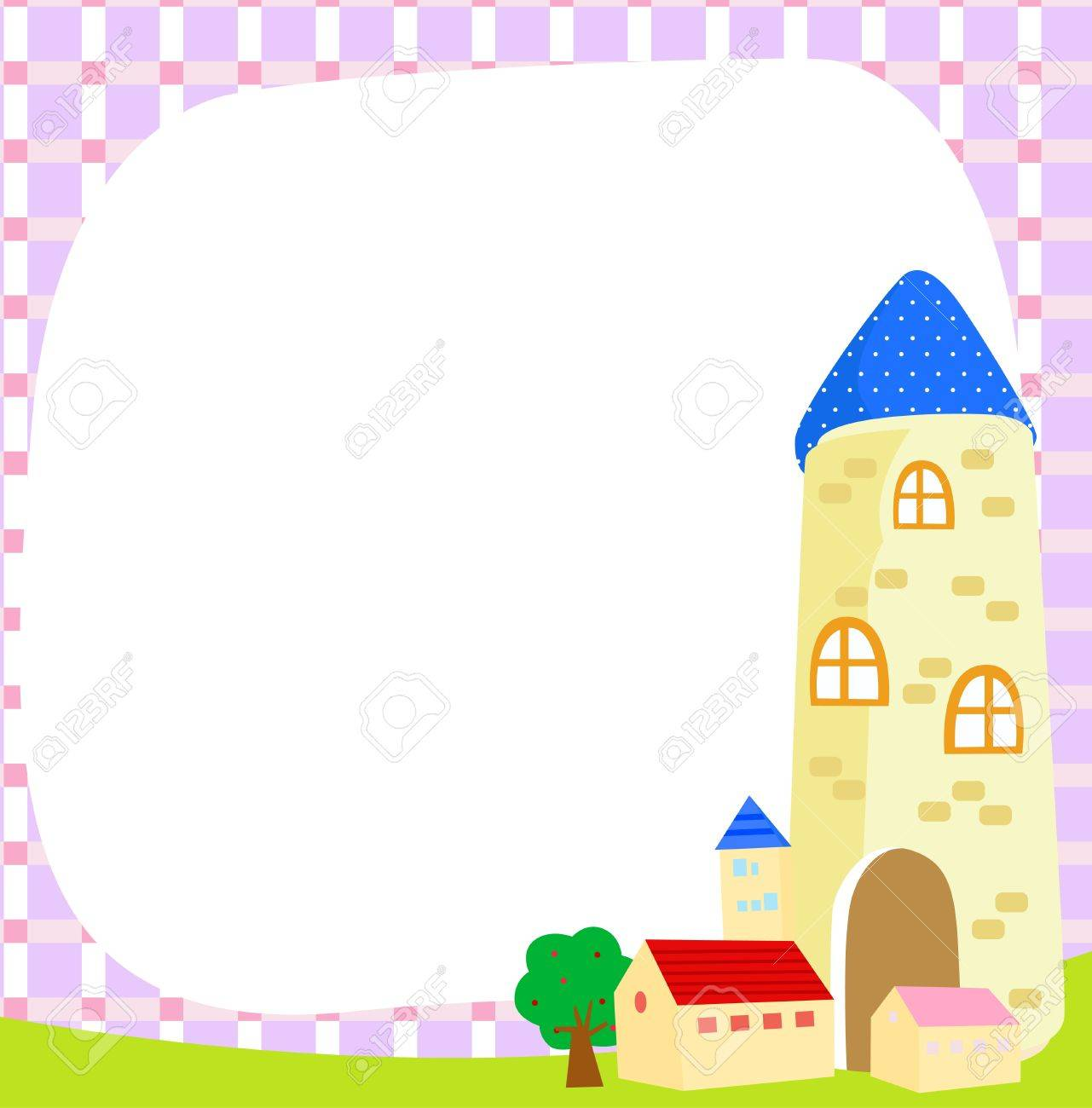 house and frame Stock Vector - 14906275