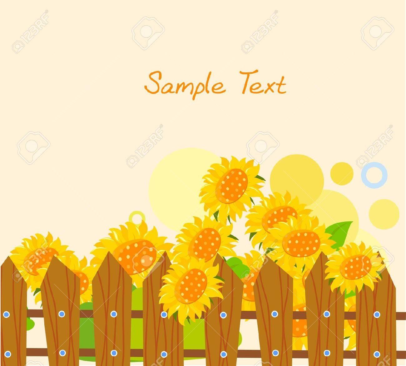 sunflower Stock Vector - 14906289