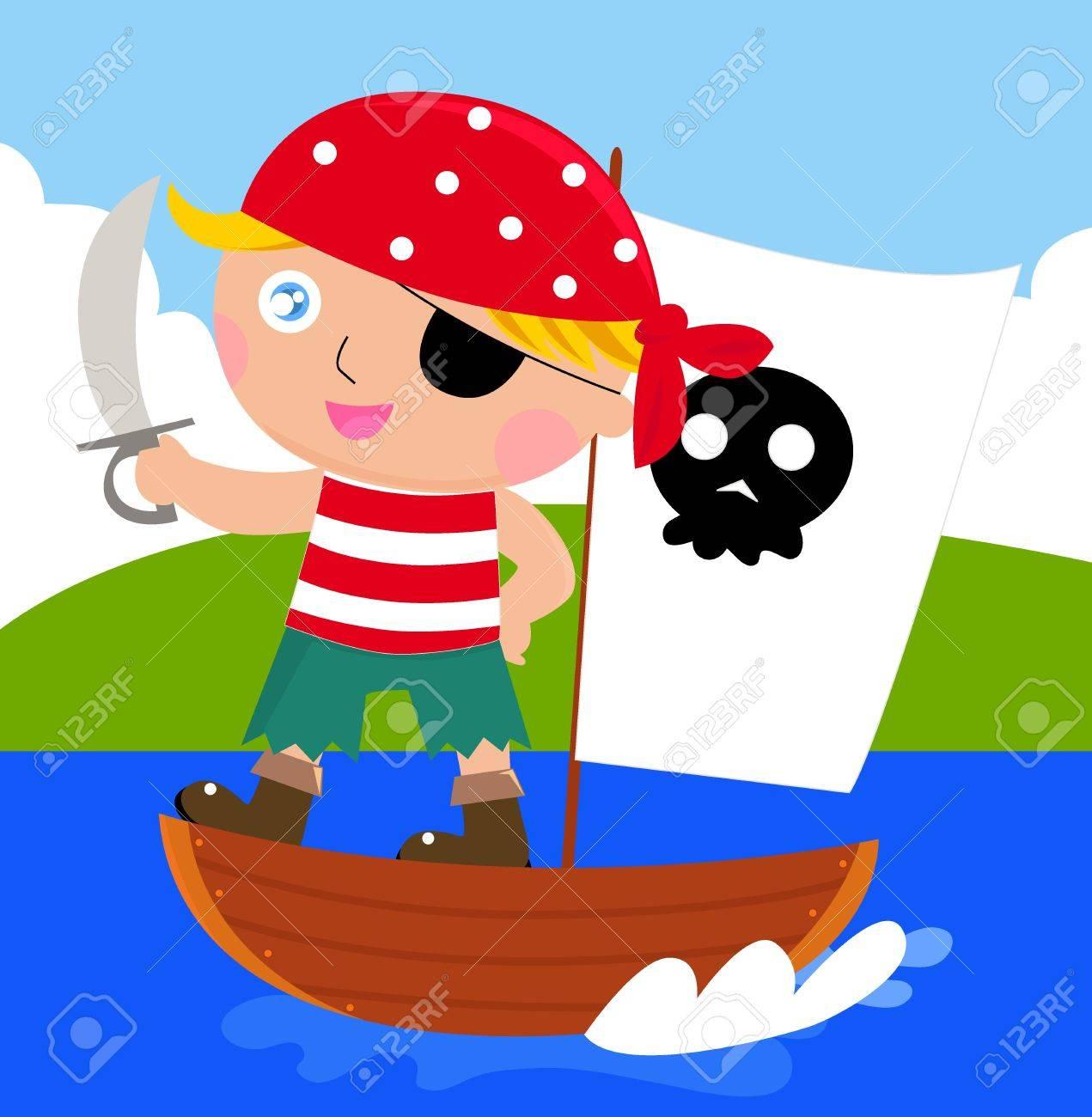 Cartoon Pirate Cartoon Pirate