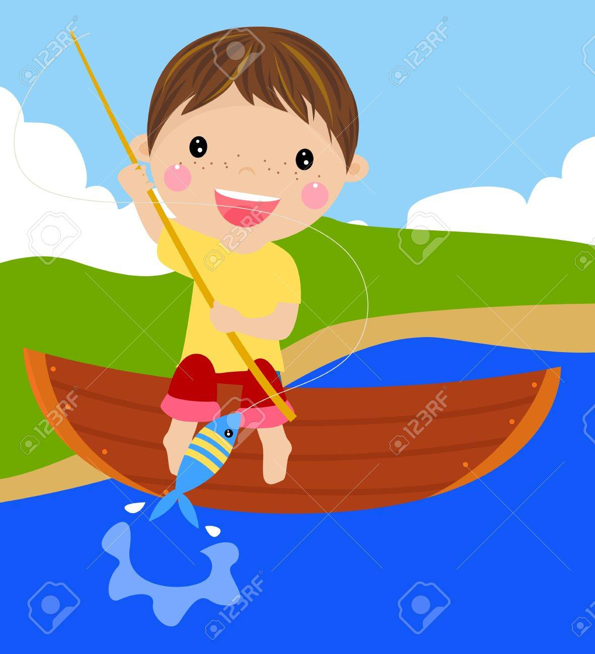 Fishing Stock Vector - 15741924