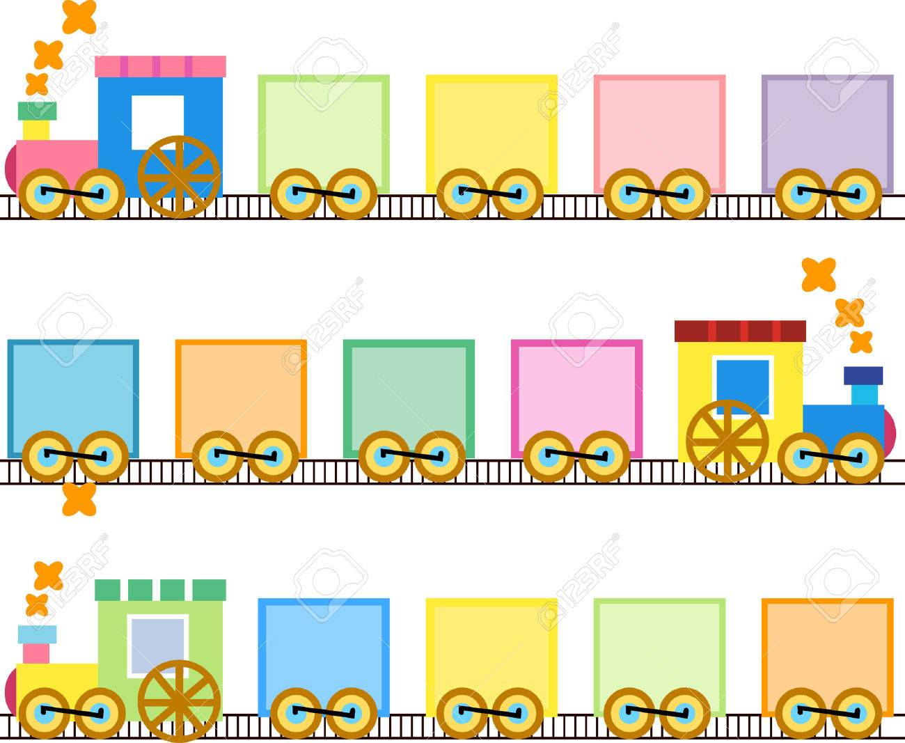 cute trains royalty free cliparts vectors and stock illustration