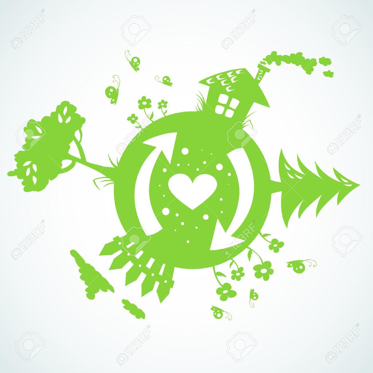 Earth day planet eco symbol royalty free cliparts vectors and earth day planet eco symbol stock vector 11658217 buycottarizona