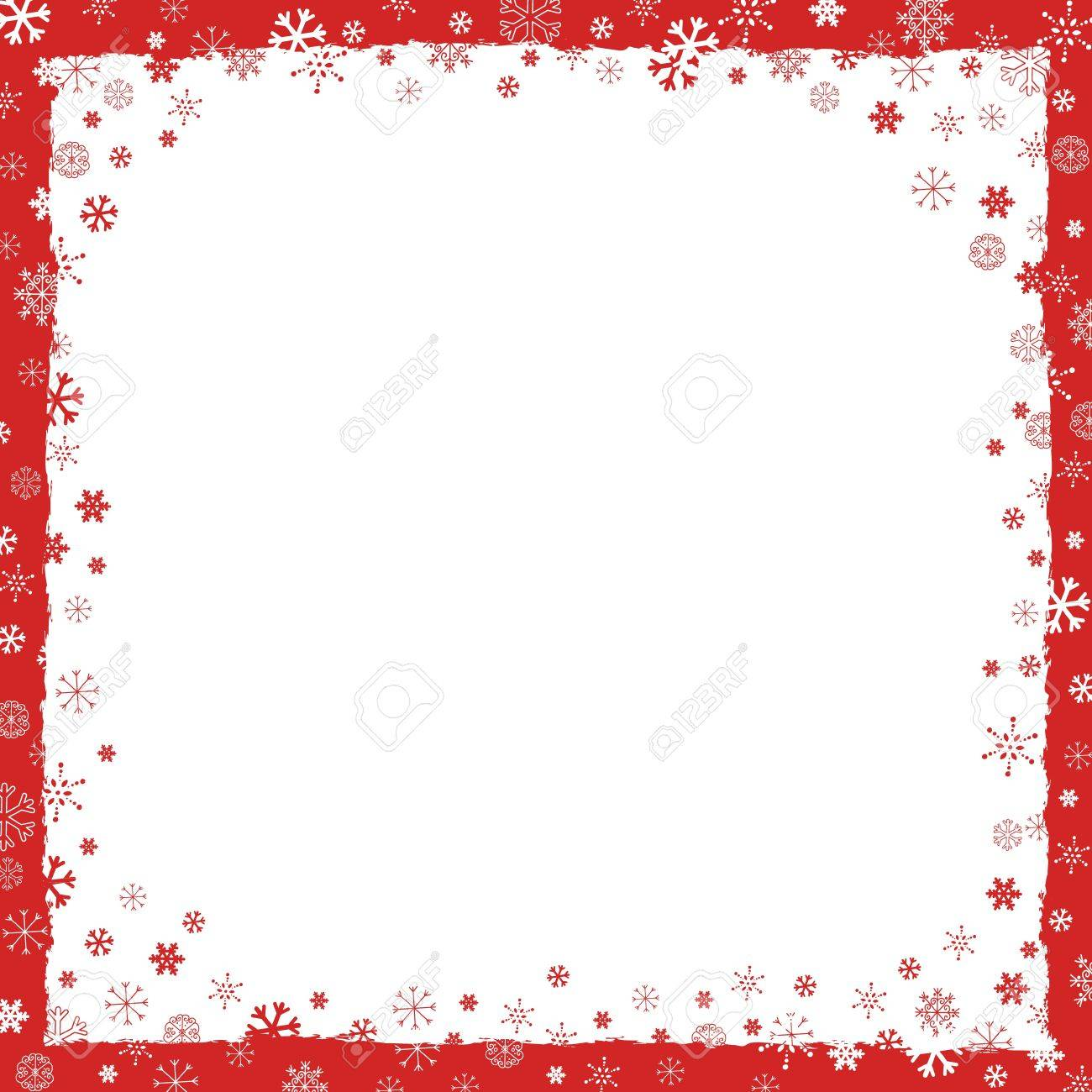 new year christmas background with snowflakes border and grunge elements stock vector 16034723