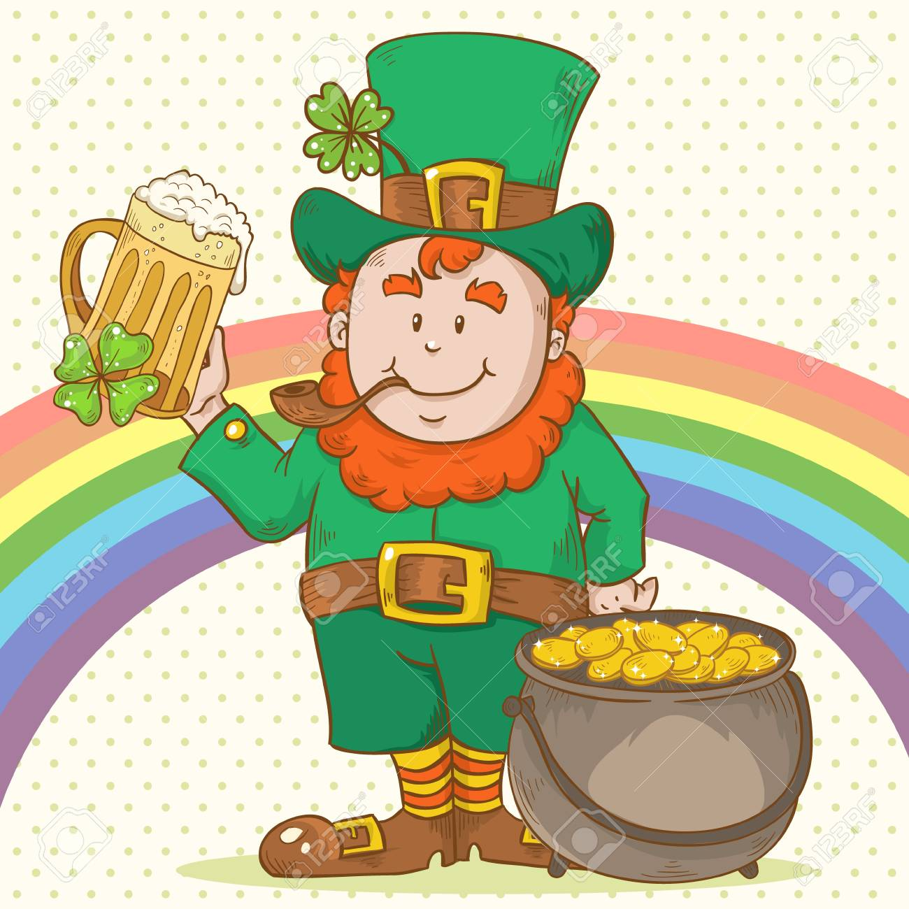 Cute Saint Patrick Stock Vector - 17550714
