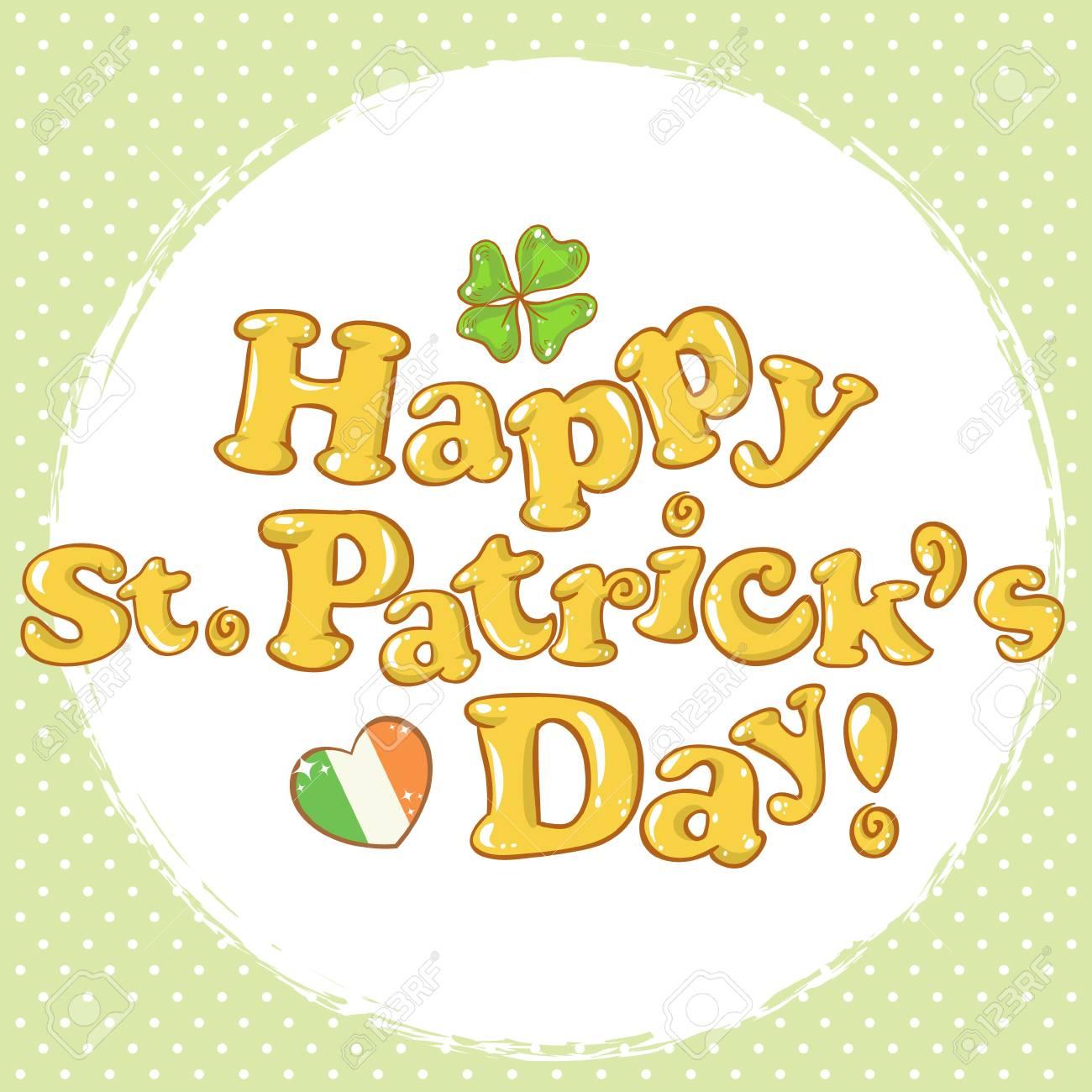 Saint Patrick Stock Vector - 17550705