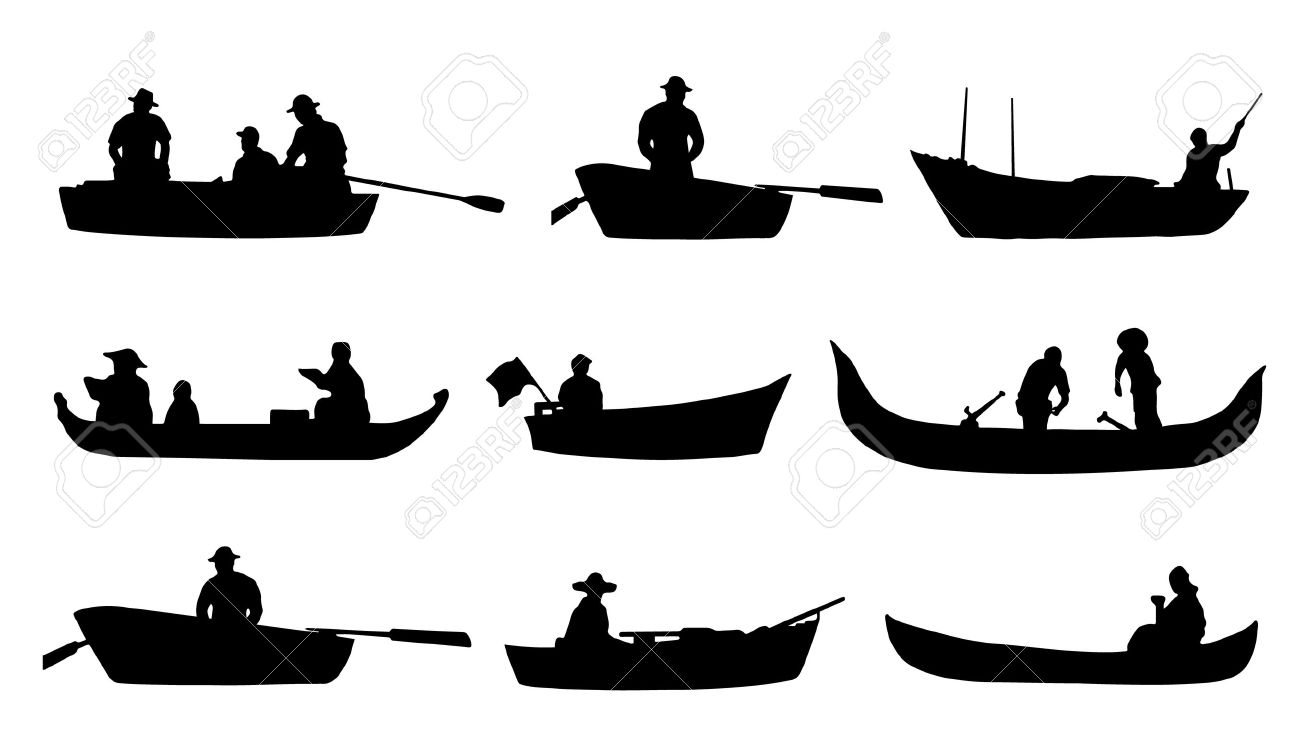 on boat silhouettes on the white background royalty free cliparts rh 123rf com boat vectra 191s 2005 boat vector graphic