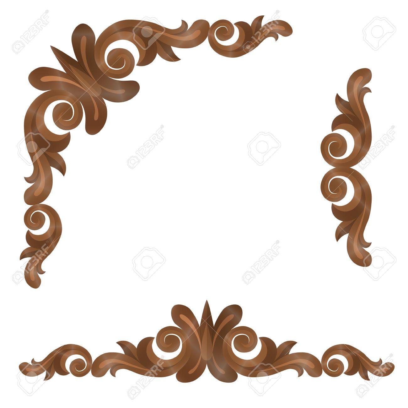 frame design. Modren Design Vector  Wood Frame For Design Of Letters And Other Sites With Frame Design A