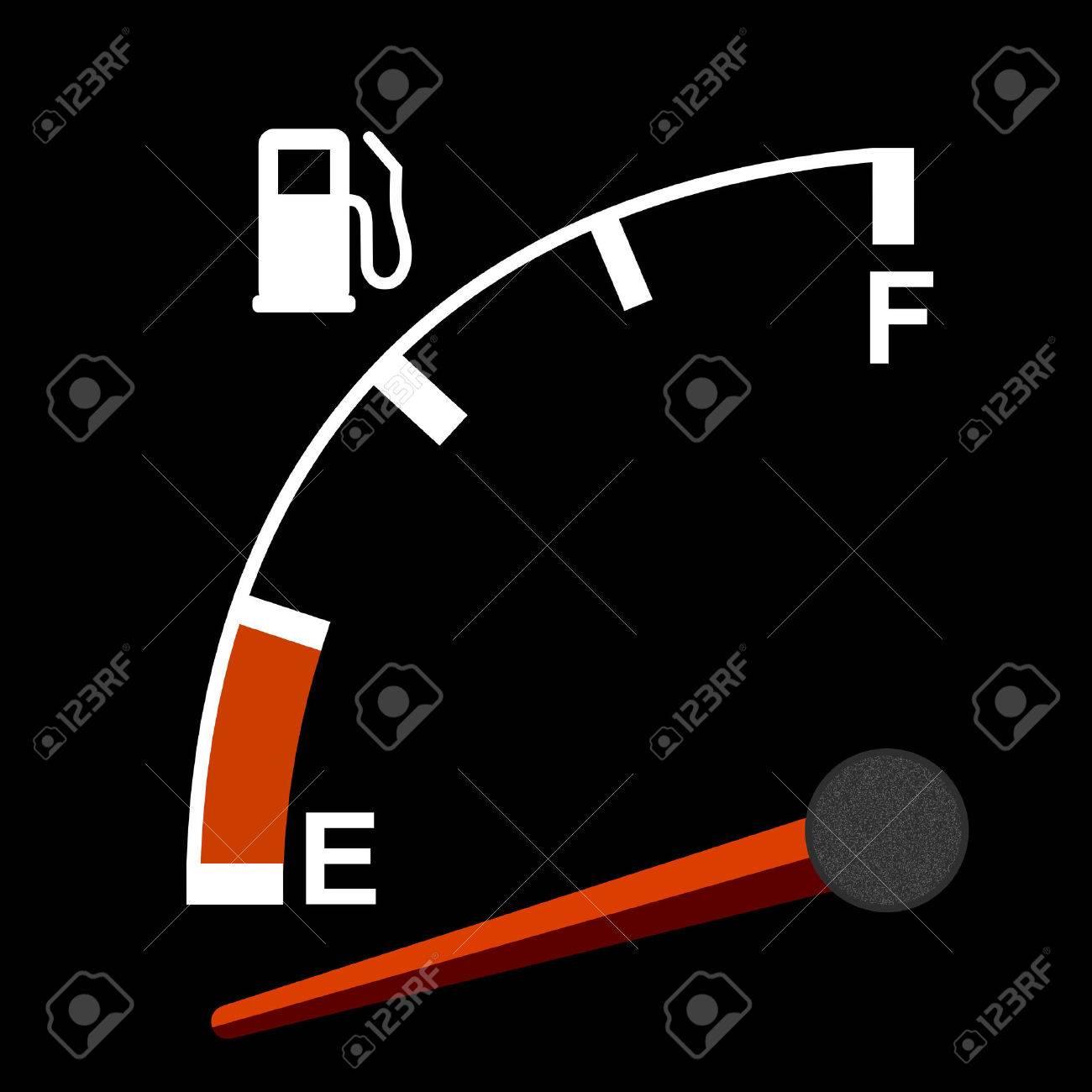 Gas gauge Stock Vector - 8102762