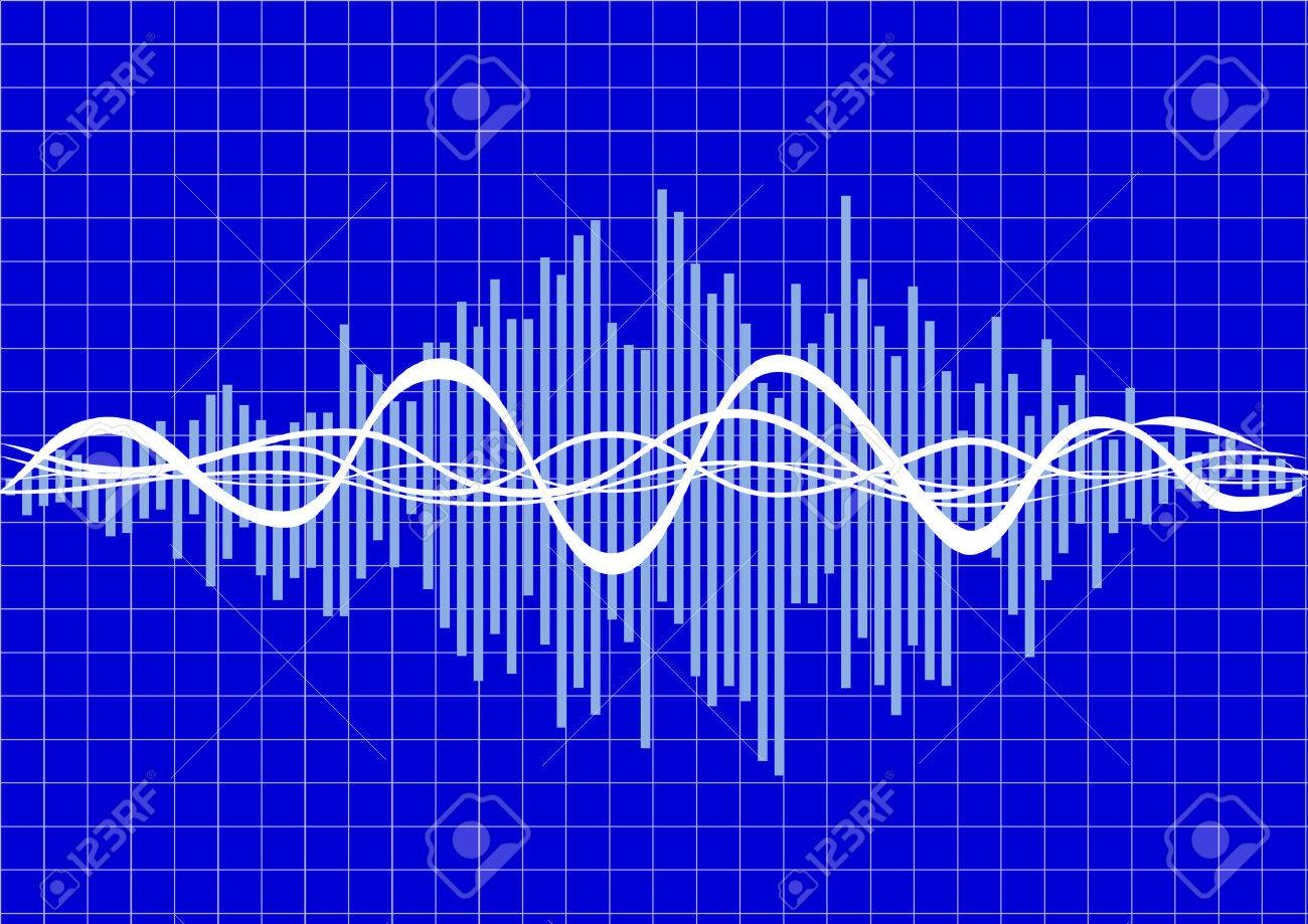 vector music wave Stock Vector - 8102788